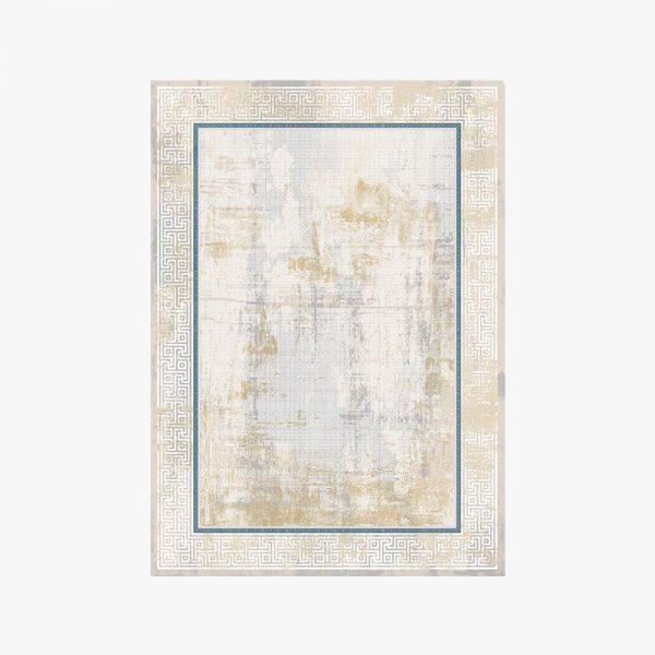 فرش ورساچه کرم طلایی