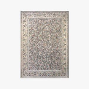 مدل جدید فرش افشان طوسی شایلی